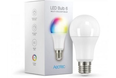 aeotec ampoule led bulb 6 mutli-colour-