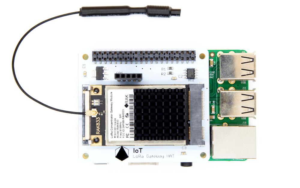 IoT LoRa pour Raspberry pi