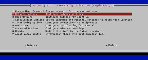 Raspi config network