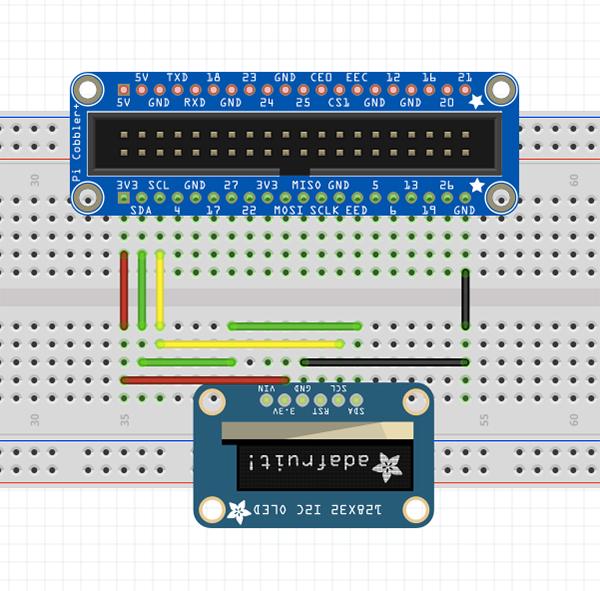 wiringl ed 128x32